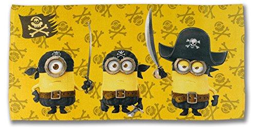 Minions - Telo da Mare Pirati (Cotone)