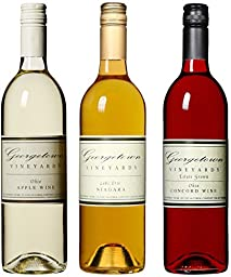 Georgetown Vineyards Taste of Ohio Wine II Mixed Pack, 3 x 750 mL Wine