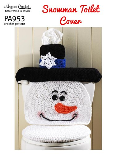 Snowman Toilet Seat Cover Seat Cover
