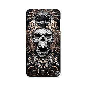 Mobicture Skull Abstract Premium Printed Case For Coolpad Note 3