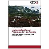 Implementación del Programa 3x1 en Puebla: Santa Ana Tecolapa y Rancho el Lunar (casos de estudio)