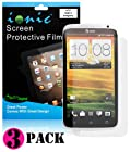 Ionic Screen Protector Film Matte (Anti-Glare) for AT&T HTC One X S720E (3-pack)