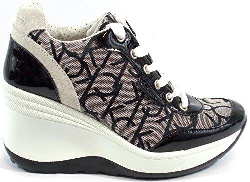 Calvin-Klein-zapatos-Sneaker-Mujer-cua-Aumentar-Cm-8-Jamie-Jacquard