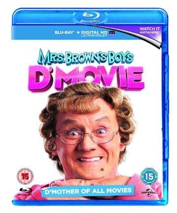 Mrs. Brown's Boys D'Movie (+ UV Copy) [ Blu-Ray, Reg.A/B/C Import - United Kingdom ]