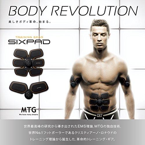 MTG(エムティージー) SIXPAD(シックスパッド) Abs Fit(アブズフィット) TR-AM2015A-E ブラック