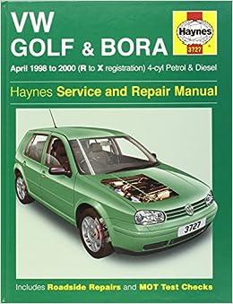 volkswagen golf and bora petrol and diesel 1998 2000. Black Bedroom Furniture Sets. Home Design Ideas