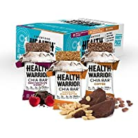 15-Pack Health Warrior Chia Bars, 13.2-Ounce - Variety Pack