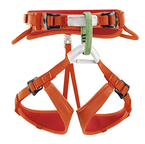 Petzl Macchu Children's Harness (Coral) (Petzl Climbing Harness compare prices)