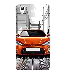 Stylish Car Designer Back Case Cover for Vivo Y51L