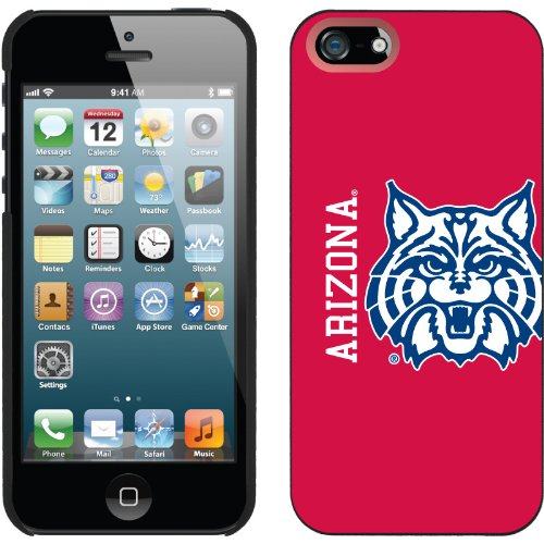 Great Sale University of Arizona Mascot Full design on a Black iPhone 5s / 5 Thinshield Snap-On Case by Coveroo