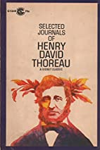 The Selected Journals of Henry David Thoreau…