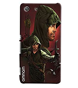 Omnam Man Bowing Printed Designer Back Cover Case For Sony Xperia M5