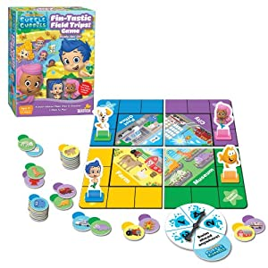Bubble Guppies Fin-Tastic Field Trips Board Game