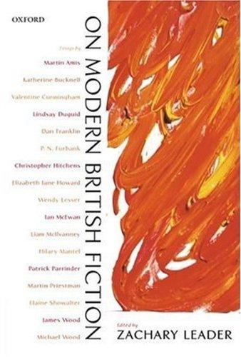 On Modern British Fiction