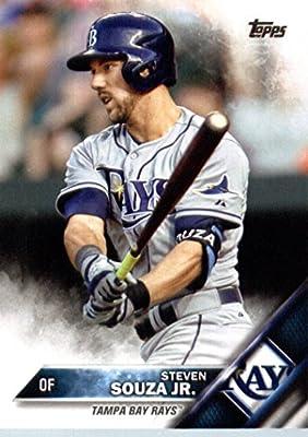 2016 Topps #324 Steven Souza Jr. Tampa Bay Rays Baseball Card