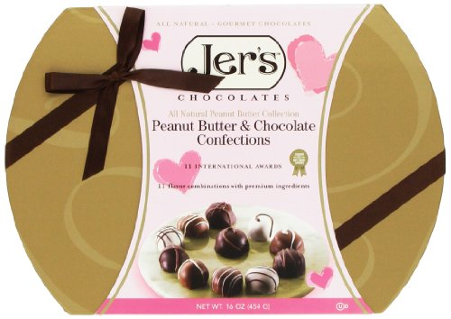 Jer's Chocolates Pink Signature One Pound Assorted Gift Box