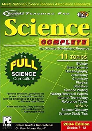 Studyworks! Teaching Pro:  Science Complete