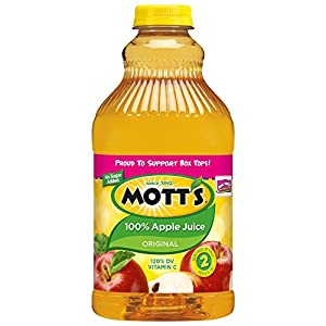 Mott's  Apple Juice, 64-Ounce Bottles (Pack of 8)