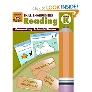 Skill Sharpeners Reading, Grade Pre-K