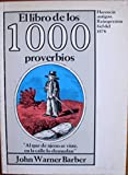img - for El Libro De Los 1000 Proverbios book / textbook / text book