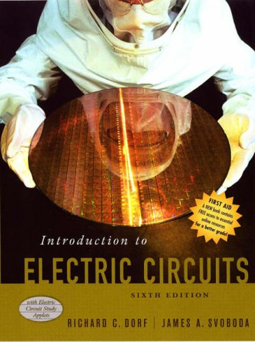 introduction to electric circuits 6th ed  solutions manual