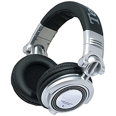 PANASONIC RP-DH1250-S DH1250 Technics Professional DJ Headphones with Detachable Microphone & Controller