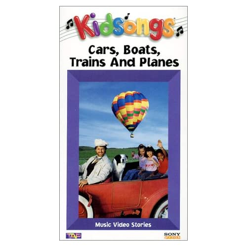 Amazon.com: Kidsongs - Cars, Boats, Trains and Planes [VHS]: Bruce