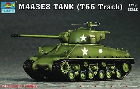 Maquette Char moyen US M4A3E8 Sherman