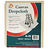 4-by-12-Foot Canvas Drop Cloth