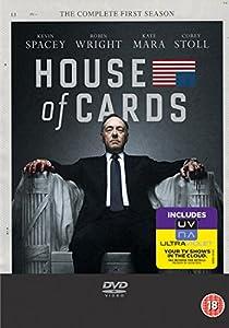 House of Cards - Season 1 (DVD + UV Copy) [2013]