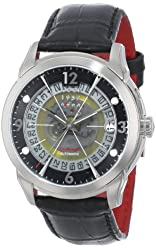 CCCP Men's CP-7001-01 Sputnik 1 Limited Edition Analog Display Automatic Self Wind Black Watch