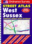 Ordnance Survey West Sussex Street At...