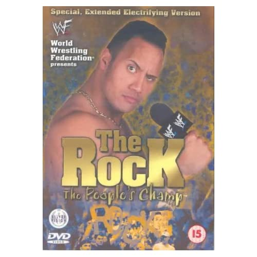 WWE   The Rock the People's Champ (A UKB KvCD By Raven2007) preview 0