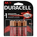 Duracell Quantum Batteries, Alkaline, Hi-Density Core, AA, 6 batteries