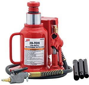 ATD Tools 7372 Low Profile Air/Hydraulic Bottle Jack - 20 Ton Capacity at Sears.com