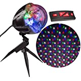 Lightshow 18937 Christmas Projection Points of Light with Remote (Color: Multicolor)