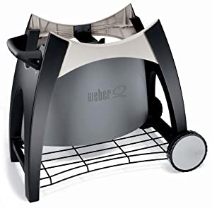 Weber 54601 Stationary Cart for Weber Q Grills 200 and 220 (Discontinued by Manufacturer)