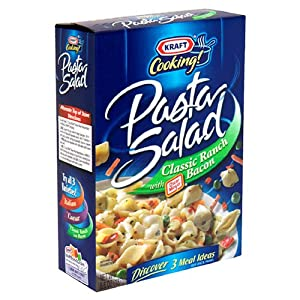 Amazon.com : Kraft Pasta Salad, Classic Ranch with Bacon, 6.6-Ounce