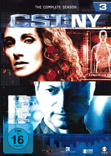 CSI: NY - Die komplette Season 3 [6 DVDs]