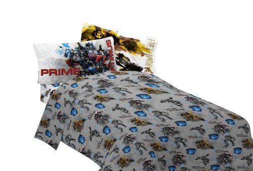 Cheapest Price! Hasbro Transformer 3 Armada Twin Sheet Set, Multi