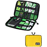 M-Aimee Universal Cable Organizer Electronics Accessories Case Yellow