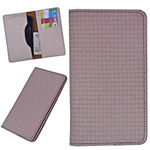 DCR Pu Leather case cover for Huawei Ascend P2 (brown)
