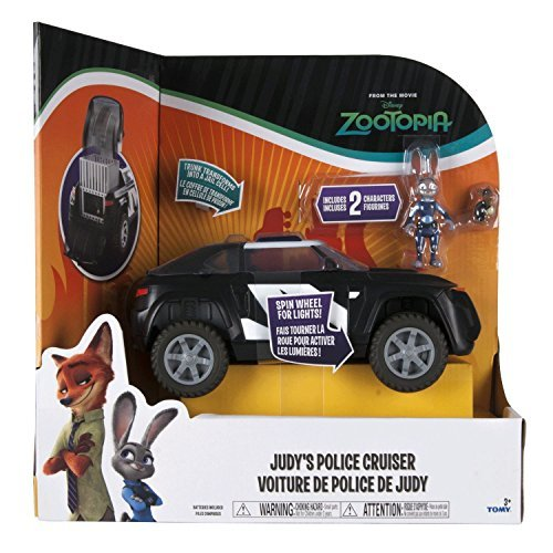 Disney's Zootropolis Judy's Police Cruiser Deluxe Vehicle by Disneys Zootropolis
