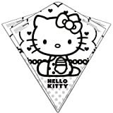 Color Me Kite 26 Inches Tyvek Diamond Kite: Hello Kitty