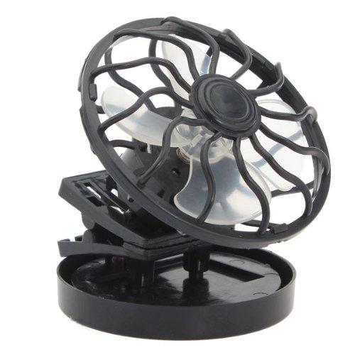 Mini Solar Powered Clip Cap/Hat Fan