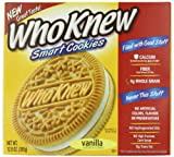 WhoKnew Cookies, Vanilla Sandwich, 12.9 Ounce (Pack of 8)