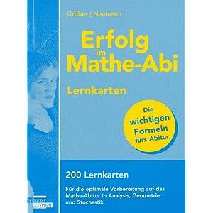 eBook Cover für  Erfolg im Mathe Abi Lernkarten 200 Lernkarten f xFC r die optimale Vorbereitung auf das Mathe Abitur in Analysis Geometrie und Stochastik