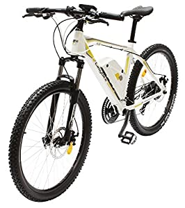 EASYBIKE E-Bike Elektofahrrad M3-650 27,5 Zoll Bereifung 11Ah 396Wh E-Mountainbike WEISS Modell 2014 by EasyBike