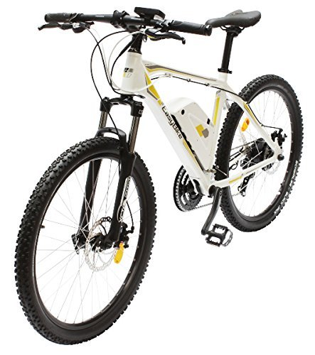 EASYBIKE E-Bike Elektofahrrad M3-650 27,5 Zoll Bereifung 11Ah 396Wh E-Mountainbike WEISS Modell 2014