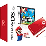 Nintendo DS Lite Red with New Super Mario Bros. Bundleby Nintendo